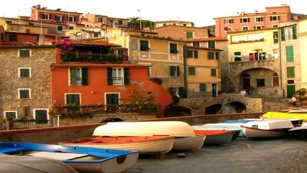 Die Altstadt Von Genua