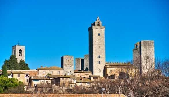Die Türmchenbauer von San Gimignano