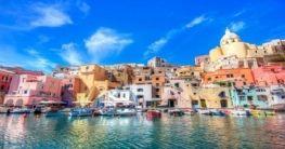 Procida am Golf von Neapel
